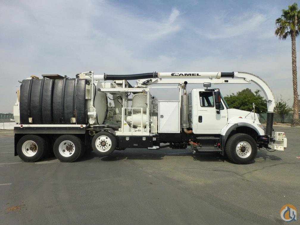2007 International 7600 Camel 200 Ejector Hydro Excavator Vacuum Truck Vacuum Truck  Trailers INTERNATIONAL 7600 Big Truck amp Equipment Sales LLC 18975 on CraneNetwork.com
